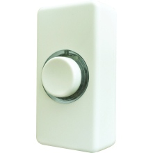 Eterna BPLWB Wired Bell Push White