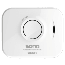 10 Year Co Alarm Battery  & Ws2 Wireless Interlink