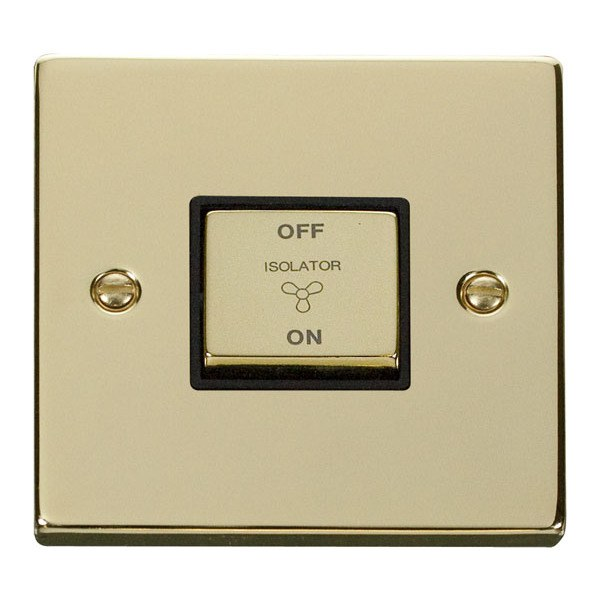 Click VPBR520BK 10A 1 Gang Ingot 3 Pole Fan Isolation Switch