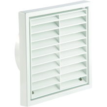 Manrose Fixed Grille 4 Inch 1151W 4""