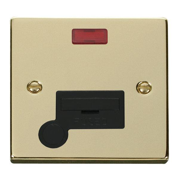 Click VPBR053BK 13A Fused Connection Unit With Flex Outlet & Neon
