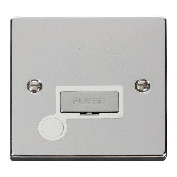 Click VPCH550WH 13A Fused Ingot Connection Unit With Flex Outlet