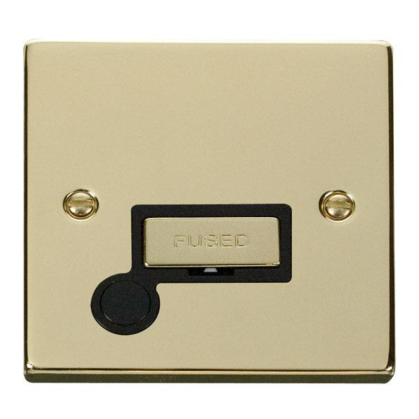 Click VPBR550BK 13A Fused 'Ingot' Connection Unit With Flex Outlet