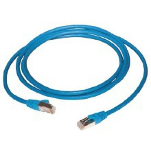 Connectix Cat 5E Patch Lead 1m Blue