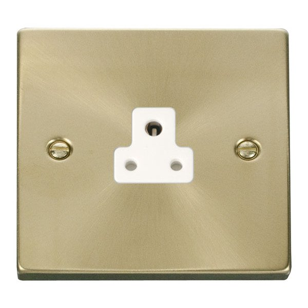 Click VPSB039WH 2A Round Pin Socket Outlet