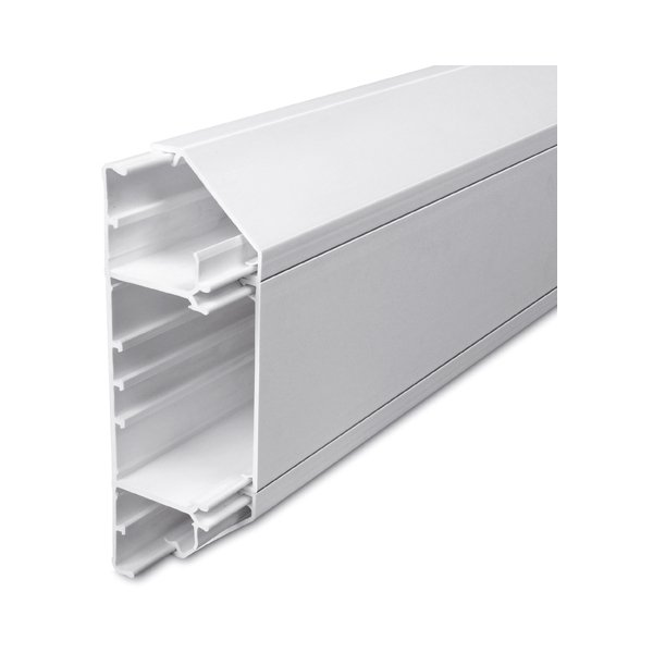 3 Compartment Pvc Dado Trunking 3m Slc50 170