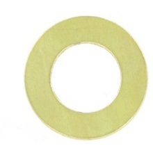 4mm Brass Nuts & Washers Brass Washer IBWM4 M4