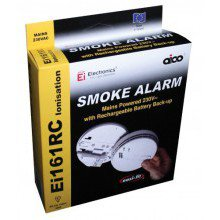 Aico EI161RC Mains Ionisation Smoke Detector With Lithium Battery