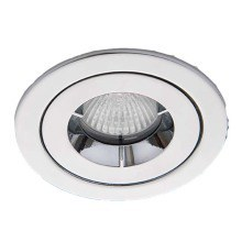 Ansell AMICD/IP65/CH iCage Mini Chrome Fire Rated Downlight 50W GU10