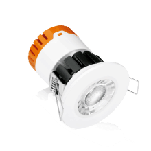 Aurora EN-DE8/30 IP65 Fixed 8W Dimmable Fire Rated Downlight - Warm White