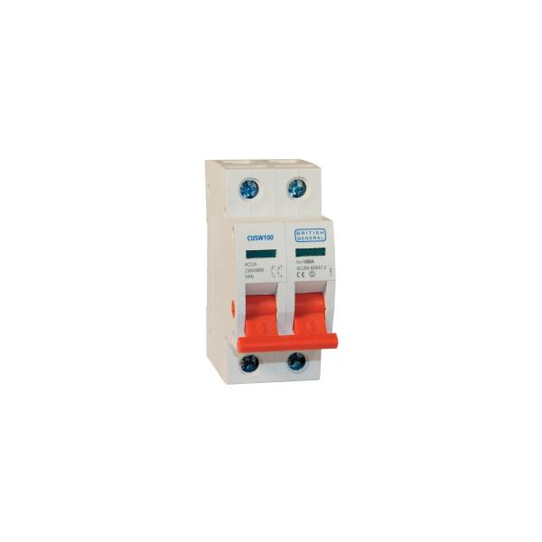Bg Cusw100 Main Switch Dp 2 Module 100a