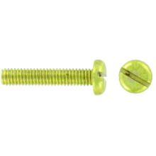 4mm Brass Screws (Pk100) BPRM12 12mm