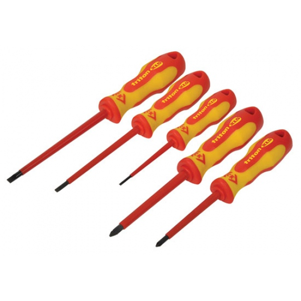 ck tools t4729 5 piece triton xls vde screwdriver set. Black Bedroom Furniture Sets. Home Design Ideas