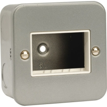 Click CL403 1 Gang Switch Plate – 3 Aperture
