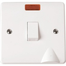 Click CMA023 20A DP Switch With Flex Outlet & Neon