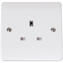 Click CMA030 13A 1 Gang Unswitched Socket Outlet
