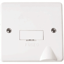 Click CMA050 13A Fused Connection Unit with Flex Outlet