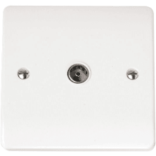 Click CMA065 Single Coaxial Socket Outlet
