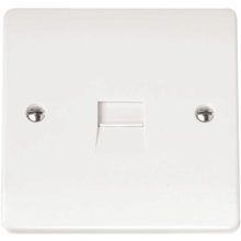Click CMA124 Single Telephone Outlet - Secondary