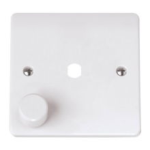 Click CMA145PL 1 Gang Single Dimmer Plate & Knob