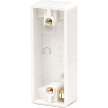 Click CMA175 10AX 1 Gang Architrave Pattress Box