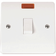 Click CMA623 20A DP Switch with neon