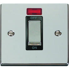 Click Deco Polished Chrome 1G Control Switch