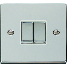 Click Deco Polished Chrome 2Way Switch