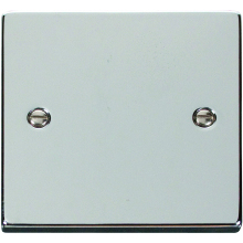 Click Deco Polished Chrome Blank Plate