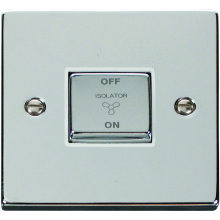 Click Deco Polished Chrome Control Switch