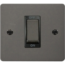 Click FPBN500BK Ingot 1 Gang 45A DP Switch