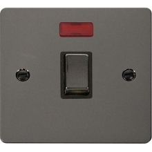 Click FPBN723BK Ingot 20A 1 Gang DP Switch + Neon