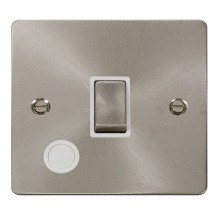 Click FPBS522WH Ingot 20A 1 Gang DP Switch + Flex Outlet