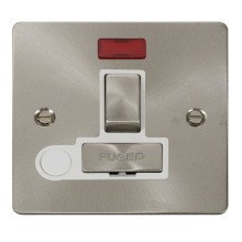 Click FPBS552WH Ingot 13A Switched Connection Unit + Flex Outlet & Neon