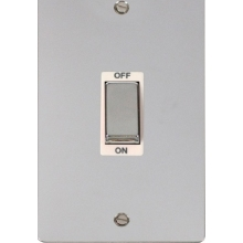 Click FPCH502WH Ingot 2 Gang 45A DP Switch