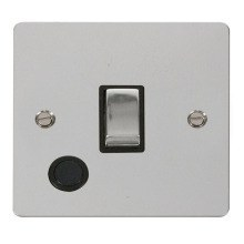 Click FPCH522BK Ingot 20A 1 Gang DP Switch + Flex Outlet