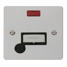 Click FPCH553BK Ingot 13A Connection Unit + Flex Outlet & Neon