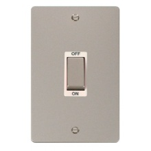 Click FPPN502WH Ingot 2 Gang 45A DP Switch