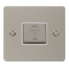 Click FPPN520WH Ingot 10A 3 Pole Fan Isolation Switch