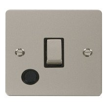 Click FPPN522BK Ingot 20A 1 Gang DP Switch + Flex Outlet
