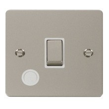 Click FPPN522WH Ingot 20A 1 Gang DP Switch + Flex Outlet