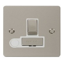 Click FPPN551WH Ingot 13A Switched Connection Unit + Flex Outlet