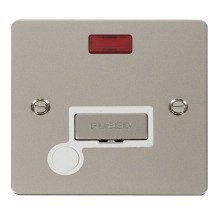 Click FPPN553WH Ingot 13A Connection Unit + Flex Outlet & Neon