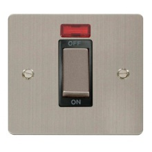 Click FPSS501BK Ingot 1 Gang 45A DP Switch With Neon
