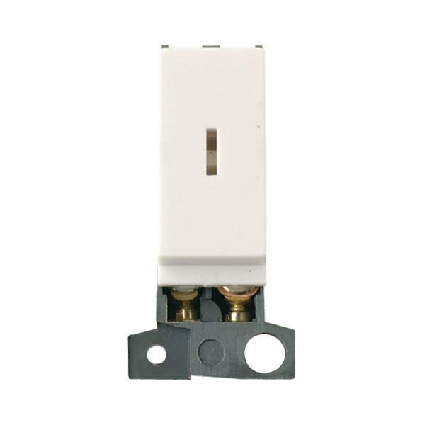 Click MD046PW 13A Resistive DP Keyswitch - Polar White