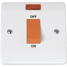 Click CMA200 45A 1 Gang Single Cooker Switch
