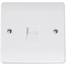 Click CMA119 Single Telephone Outlet - Master