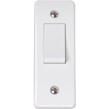 Click CMA171 10AX 1 Gang 2 Way Architrave Switch