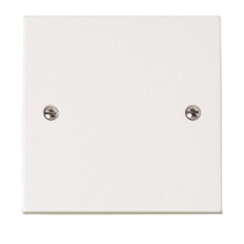 Click PRW060 1 Gang Blank Plate