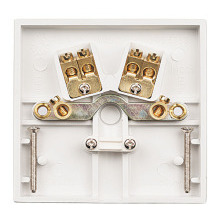 Click PRW017 20A Flex Outlet Plate With Terminals